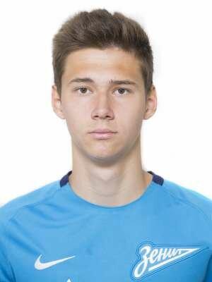 Футболист Молчан Владислав - ФК «Зенит-2» (Санкт-Петербург)