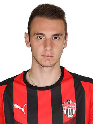 Футболист Рубцов Илья