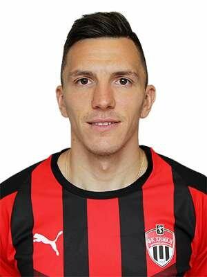 Футболист Барков Дмитрий