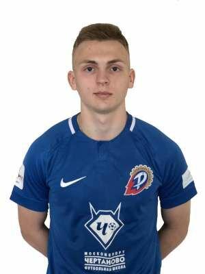Футболист Прудников Николай