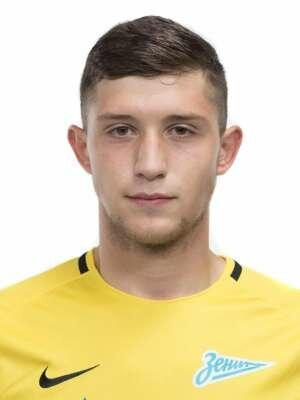 Футболист Рыбиков Николай - ФК «Зенит-2» (Санкт-Петербург)