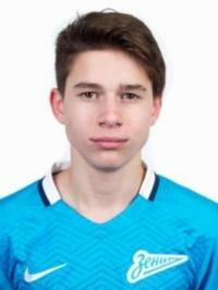 Футболист Вахания Илья - ФК «Зенит-2» (Санкт-Петербург)