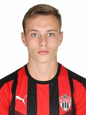 Футболист Бойцов Ефим