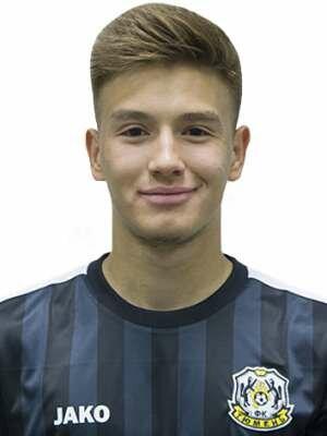Футболист Глухов Егор