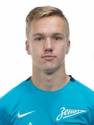 Футболист Левин Максим
