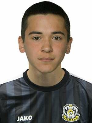 Футболист Калиев Азат