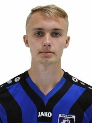 Футболист Енин Егор